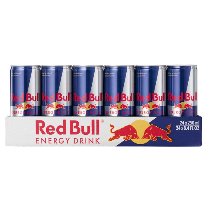 Vanaf maandag Red Bull 24 stuks voor 16,24 per blikje 0,68 [ALLEEN ONLINE] @Albert Heijn
