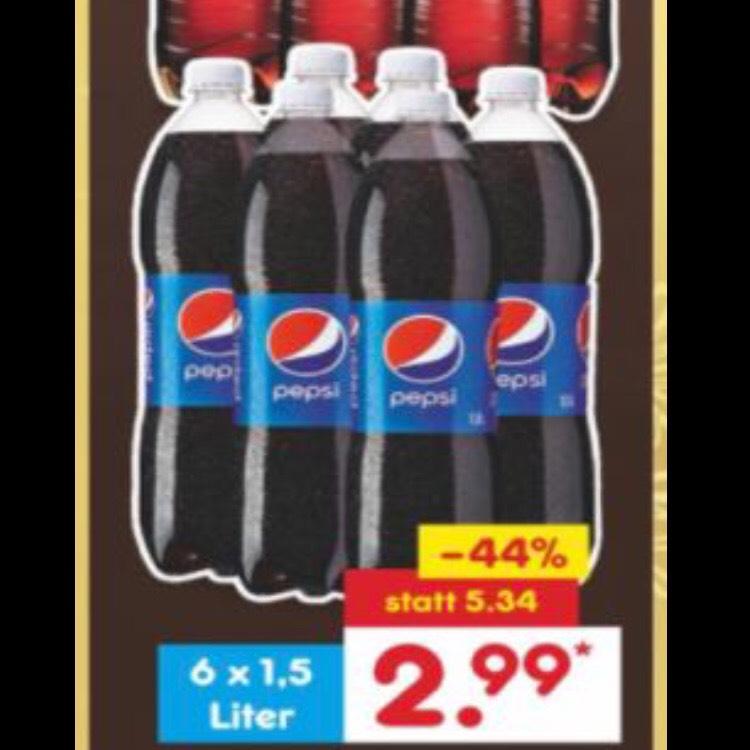 Pepsi of 7up voor 50ct per grote fles [GRENSDEAL]