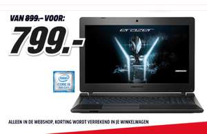 [DAGDEAL] Erazer P6689-i5-256 gaming laptop @ Media Markt