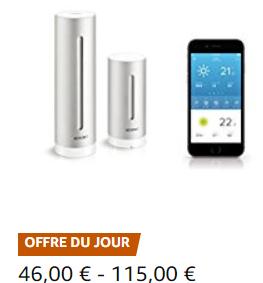 Netatmo Weerstation dag deal @ Amazon FR