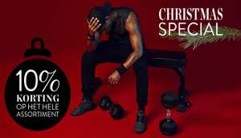 Kerstkorting @ gorillasports van 10% korting op het hele assortiment