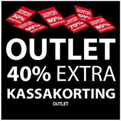[UPDATE] Outlet 40% extra korting @ Voorwinden