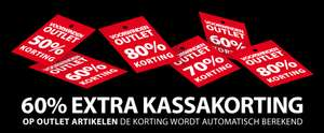 [UPDATE] Outlet 60% extra korting @ Voorwinden