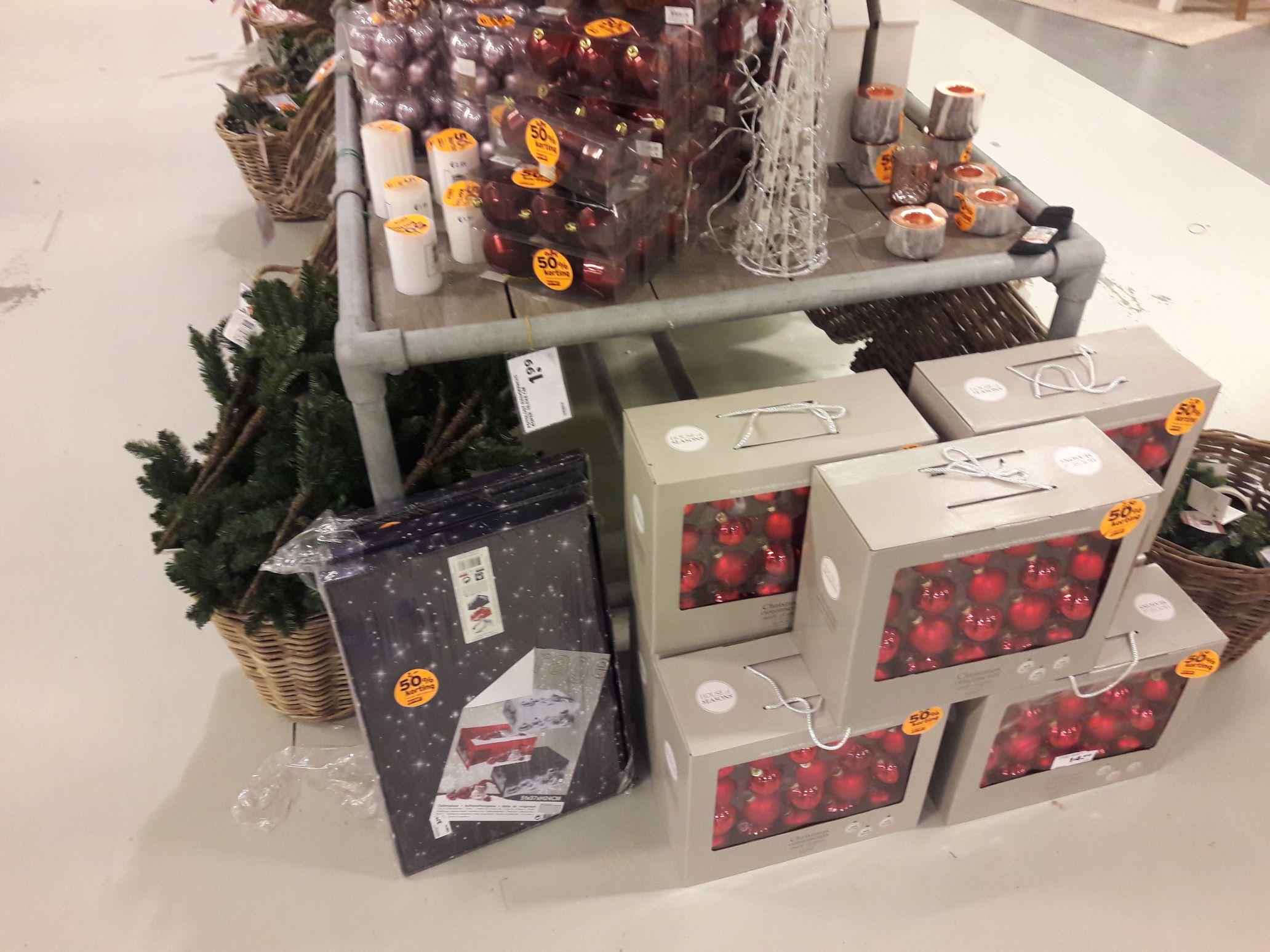 50 %Korting op kerst artikelen bij de gamma