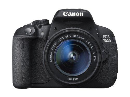 Canon EOS 700D + EF-S 18-55 mm. Cameratype: SLR-camerakit @amazon.fr