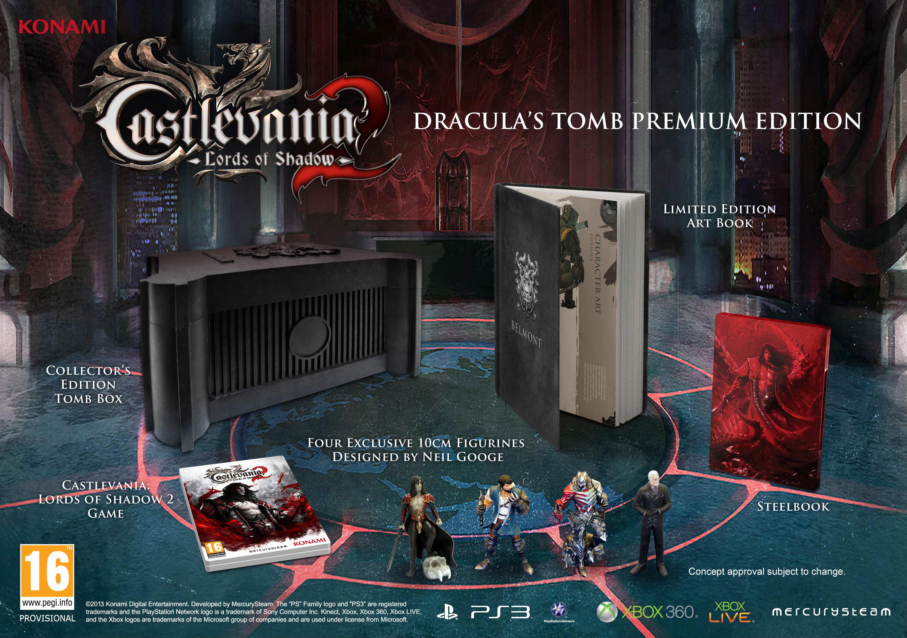 Castlevania Lord Of Shadows 2: Draculas Tomb Premium Edition (PS3) voor € 38,69 @ Zavvi