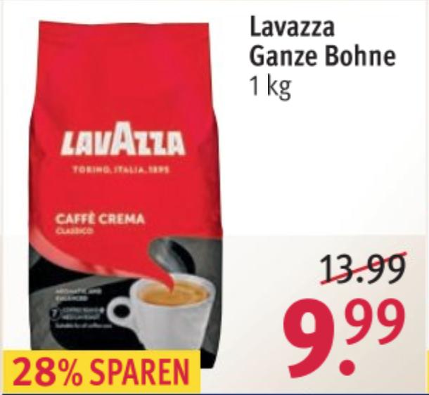 1kg LavAzza koffiebonen @ Rossmann DE [Grensdeal]