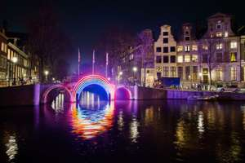 25% korting op Amsterdam light festival via Mediamarkt code