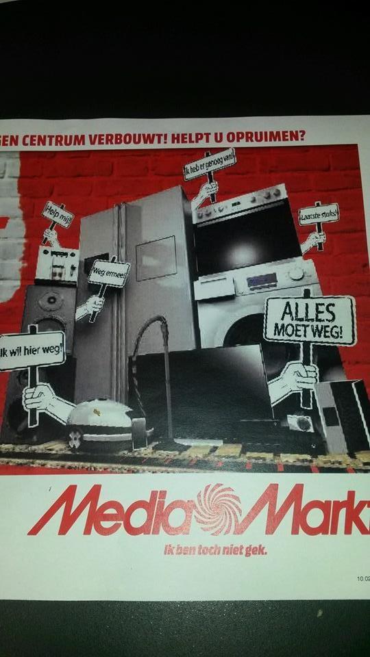 Alles moet weg - 50% korting op games, dvds en blurays bij Media Markt Groningen (Westerhaven)