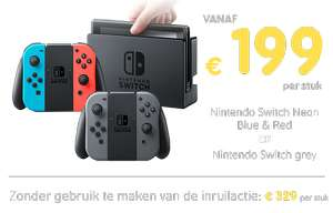 Inruil actie Nintendo Switch @ Game Mania