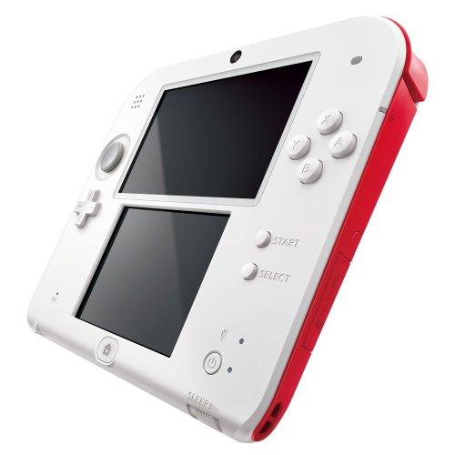 Nintendo 2DS (wit/rood) voor €74,58 @ Amazon.co.uk
