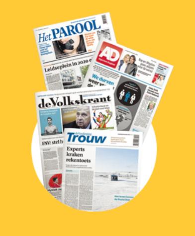 Je favoriete krant 1 week gratis in bus en digitaal @ krantcadeaukaart