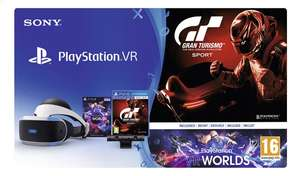 Playstation VR + camera + VR worlds + GT Sport