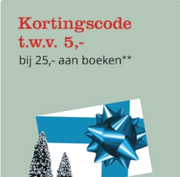 Bol.com gratis €5 korting Nederlandse boeken
