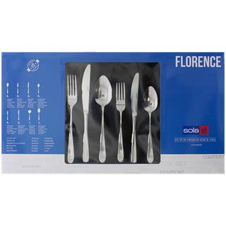 Sola Florence Bestekset - 39 delig - 6 persoons voor €17,77 @ Action