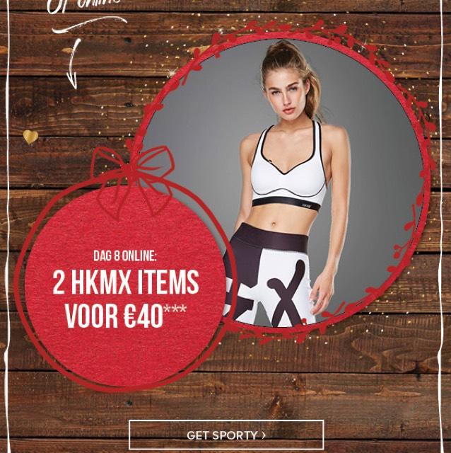 2 HKMX items voor 40€ bij Hunkemoller