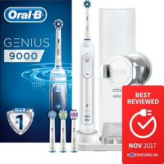 ORAL B 9000 Genius Adviesprijs € 299,99 nu 89,99 + cashback