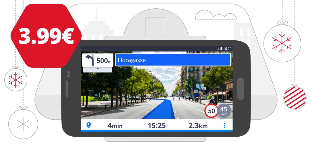 Sygic Real View-navigatie voor slechts €3,99 (voor bestaande klanten)
