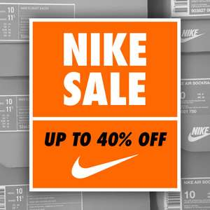 Nike End Of Season Sale met kortingen tot 40%