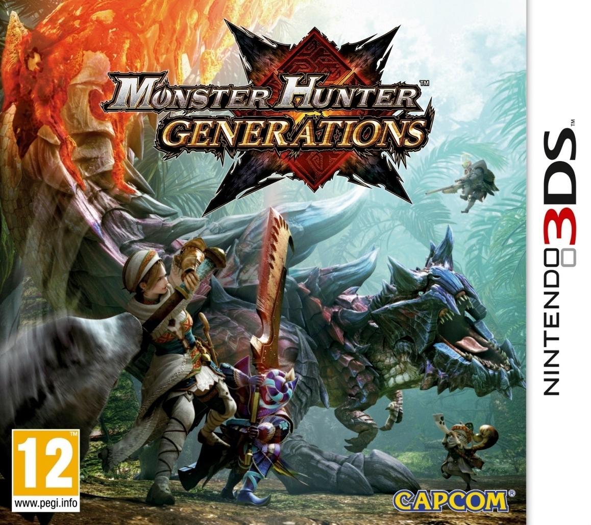Monster Hunter Generation (3DS) voor €23,67 @ Amazon.it