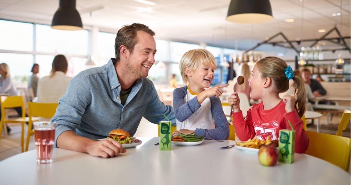 IKEA - Kinderen eten gratis mee van 23-12 t/m 07/01