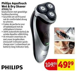 Philips AquaTouch AT886/16 scheerapparaat