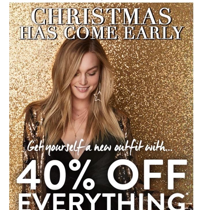 40% korting Boohoo kledingwebshop