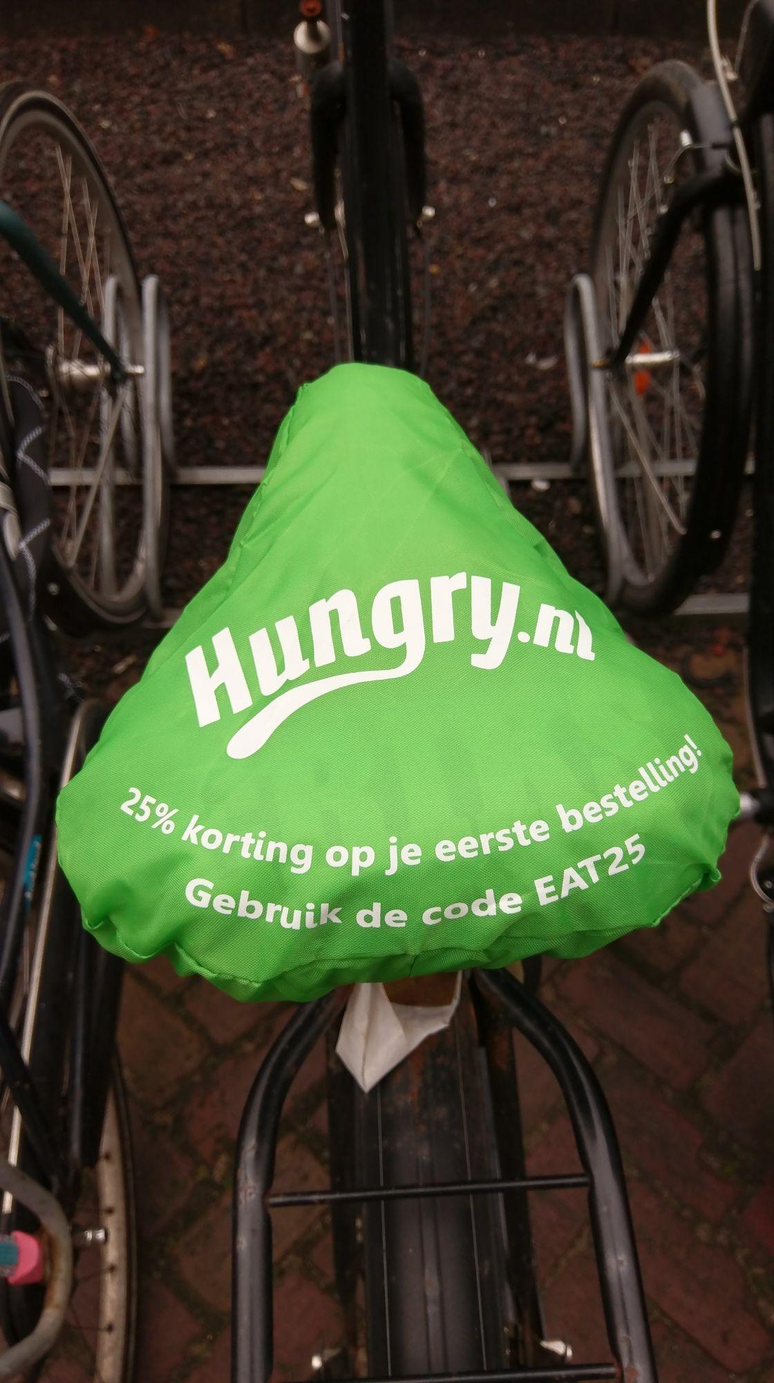 Hungry.nl kortingscode 25% op eerste bestelling