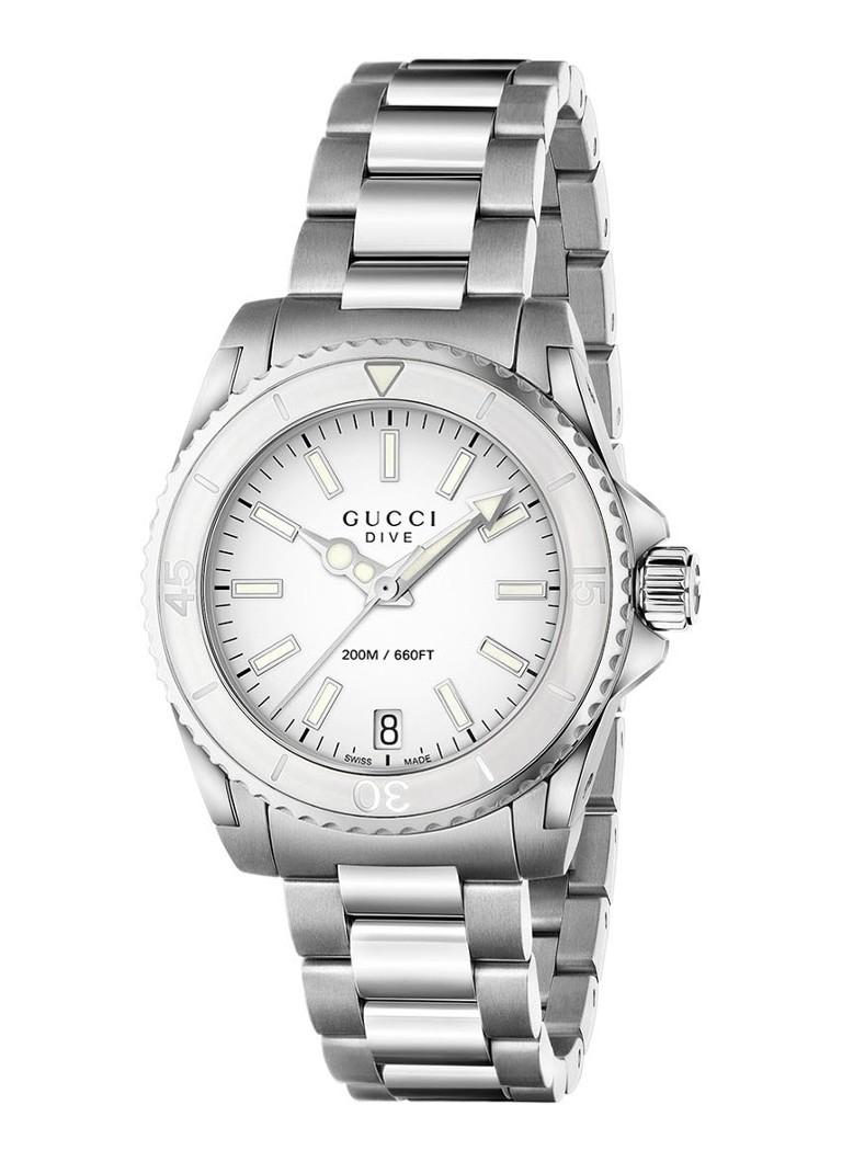 Prijs foutje? Gucci horloge divers Horloge Dive YA136402 normaal 850!