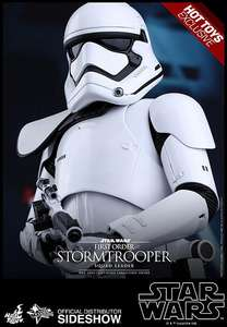 Hot Toys Exclusive -- Star Wars Episode VII MMS action-Figure 1/6 First Order Stormtrooper Squad Leader (2017)