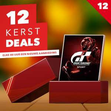 Gran Turismo™ Sport 12e Kerstdeal @ PSN