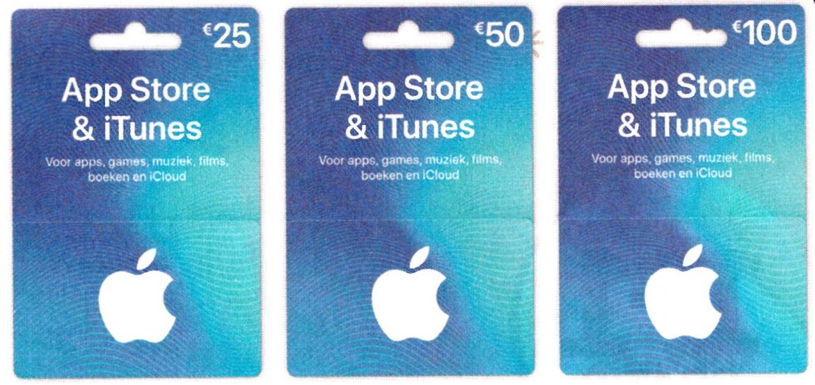 15% korting op App Store & iTunes* cadeaukaarten @ Albert Heijn