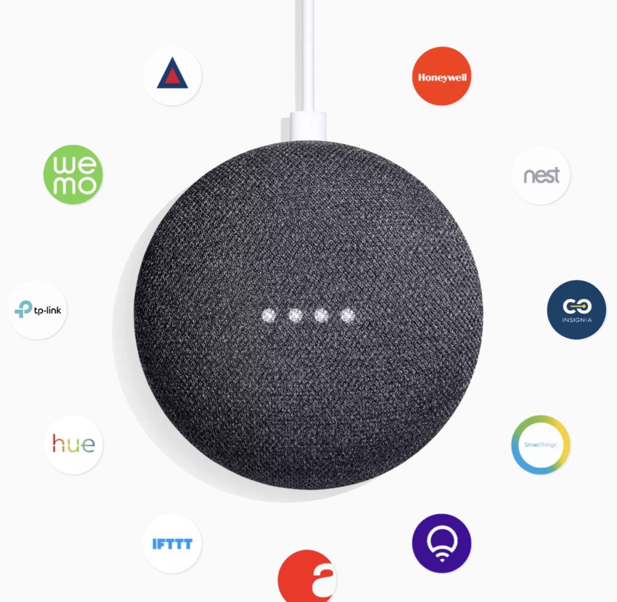 [Grensdeal DE] Google Home Mini Wit/Grijs @ Mediamarkt