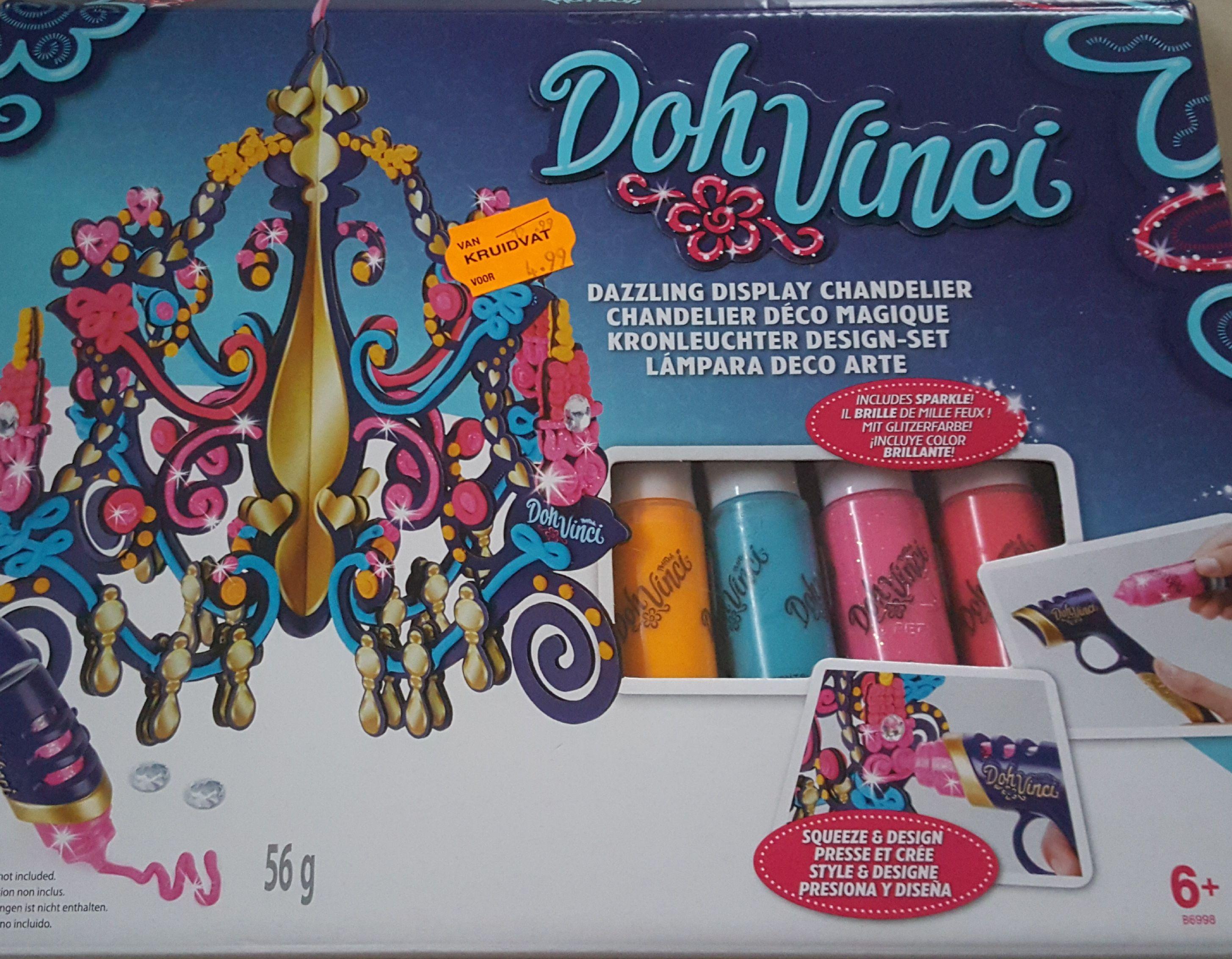 Play Doh - Doh Vinci kroonluchter design set