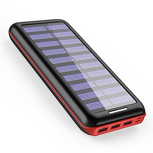 powerbank akeem 22000 mAh Solar oplade