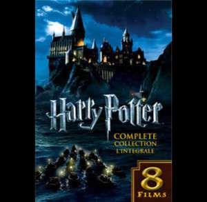 Harry Potter 8 film Collection HD/4K@iTunes voor 29,99