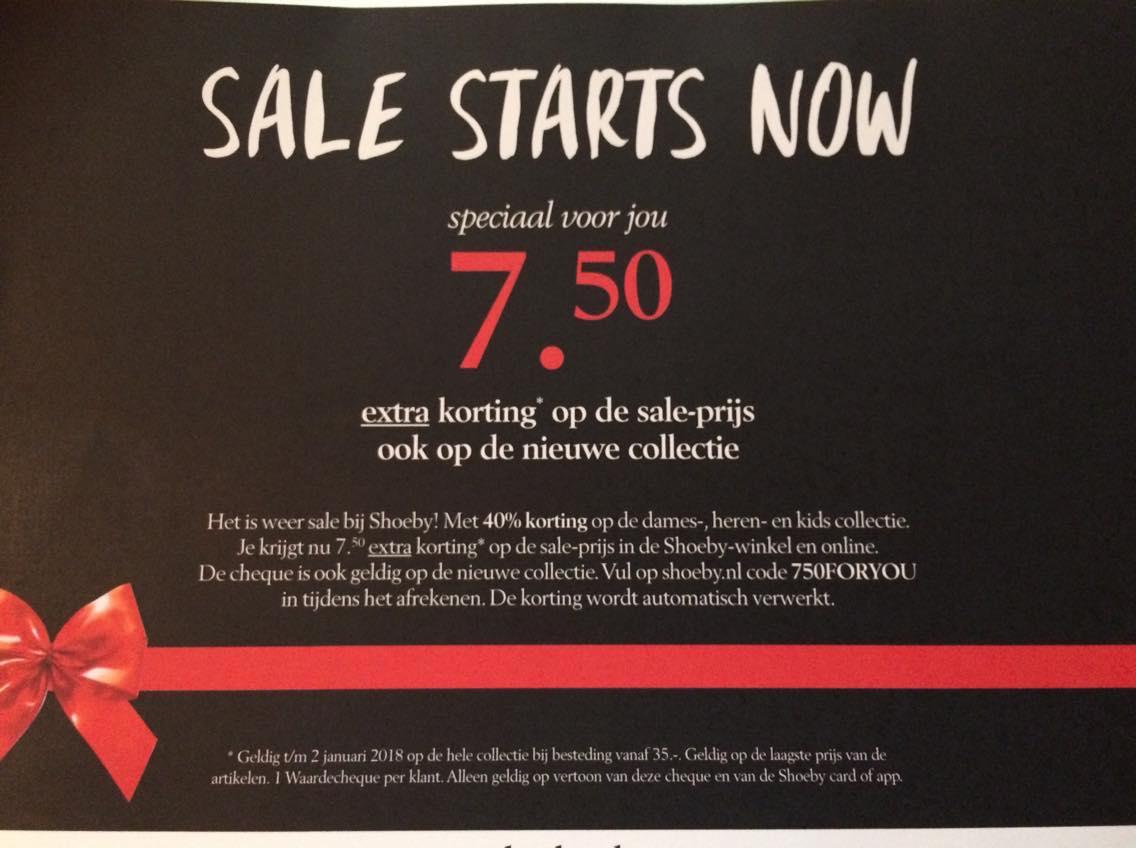 Extra korting bij Shoeby Fashion op de sale-prijs (maar ook op de nieuwe collectie)