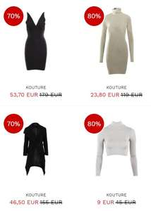 Kouture 70-80% korting @ Miinto