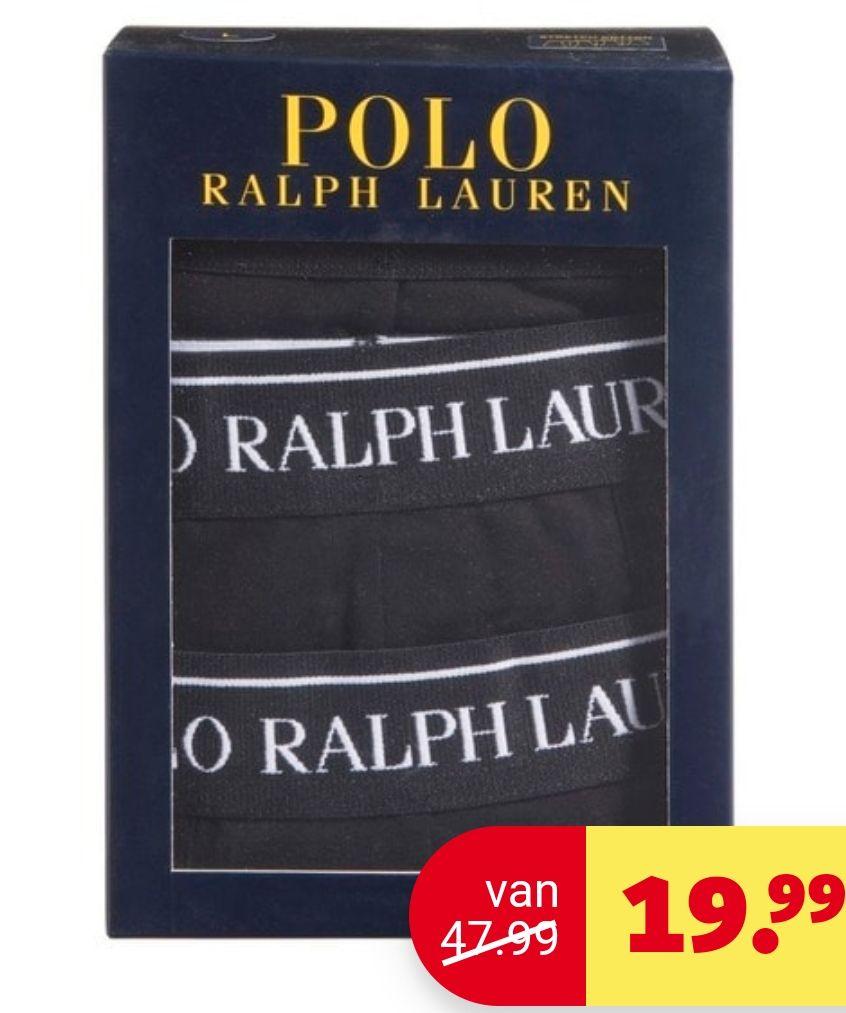 Ralph Lauren herenboxer 3 pack maat XL bij Kruidvat