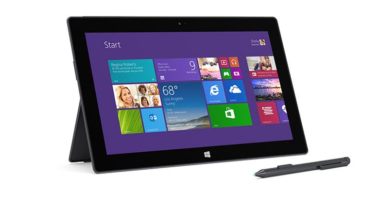 Microsoft Surface Pro 2 256GB SSD + 8GB werkgeheugen
