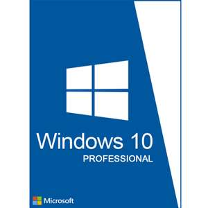 Microsoft Windows 10 Home of Professional