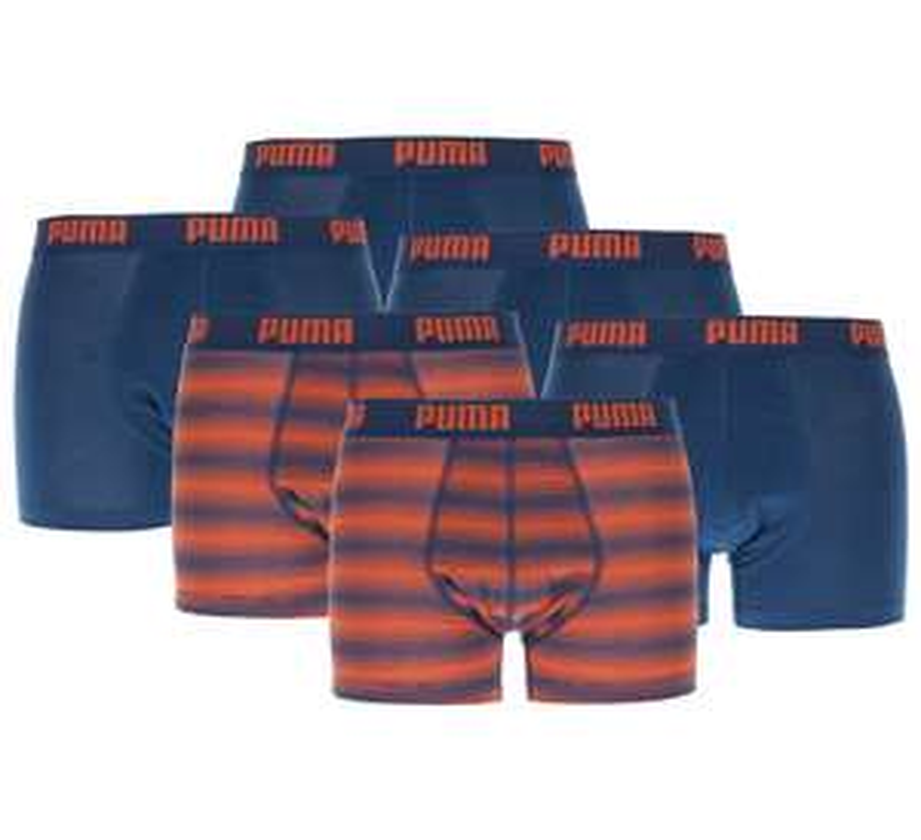 2, 3 of 6 pak Puma / Bjorn Borg/ Calvin Klein / Armani boxershorts & slips @ Plutosport