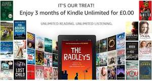 3 maanden Kindle Unlimited gratis @ Amazon.UK