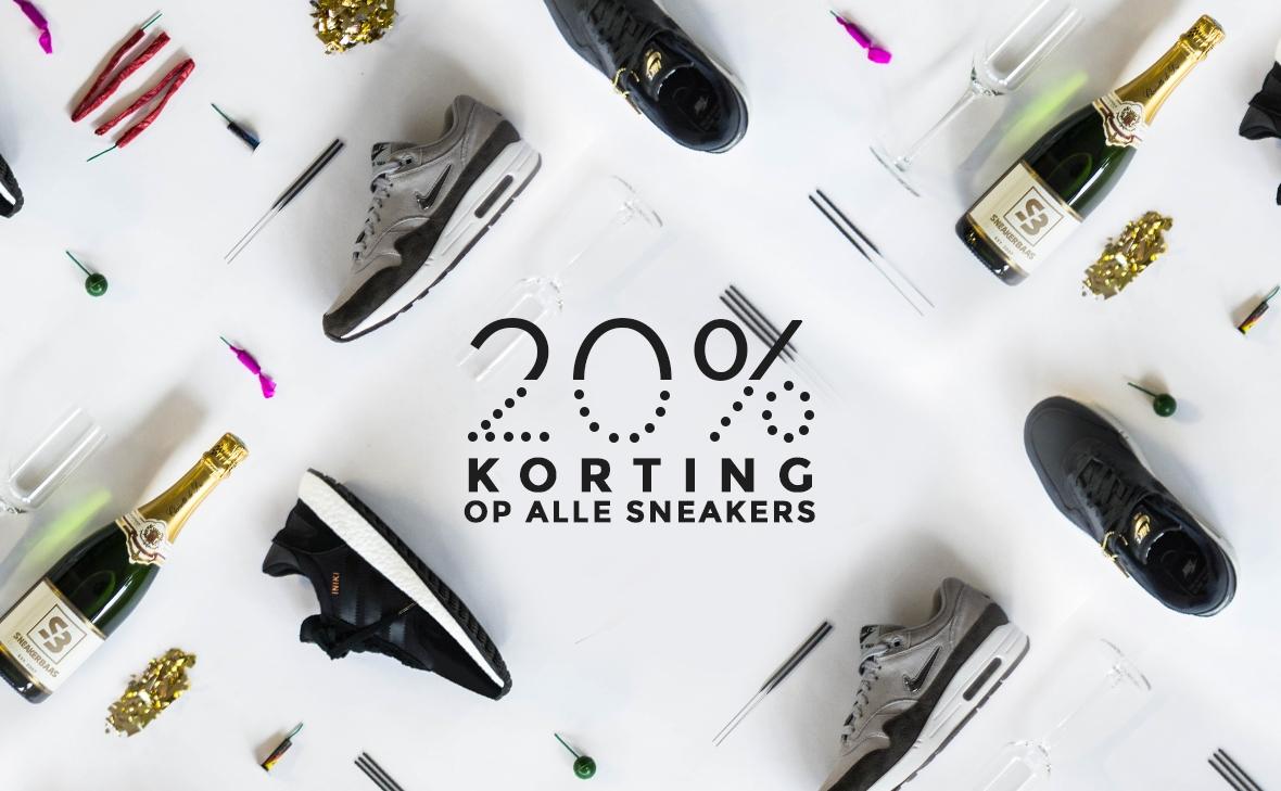20% KORTING OP ALLE SNEAKERS! @ Sneakerbaas