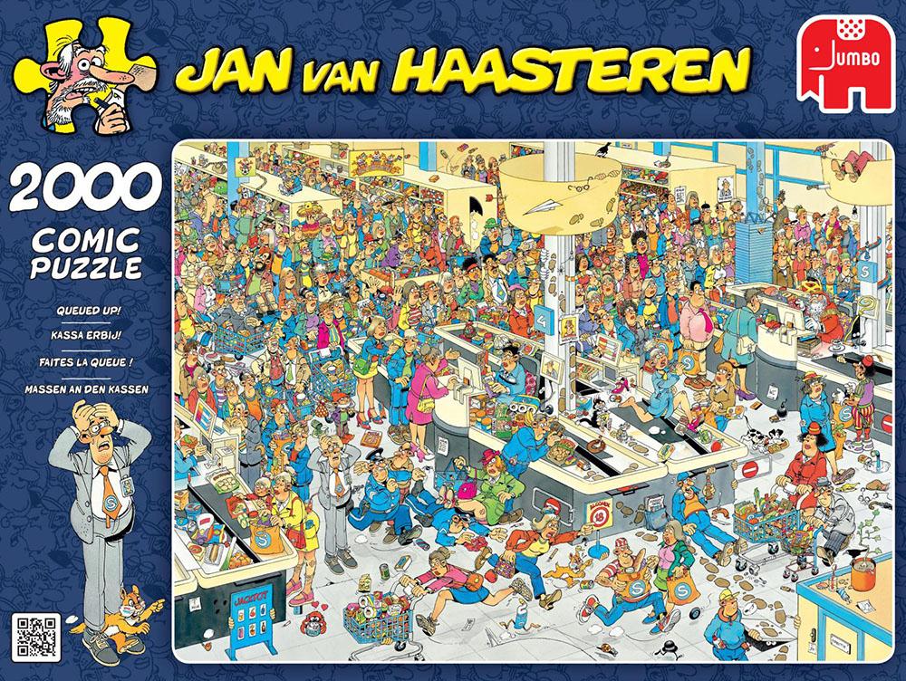 Jan van Haasteren puzzels vanaf €4,99 @ Kruidvat