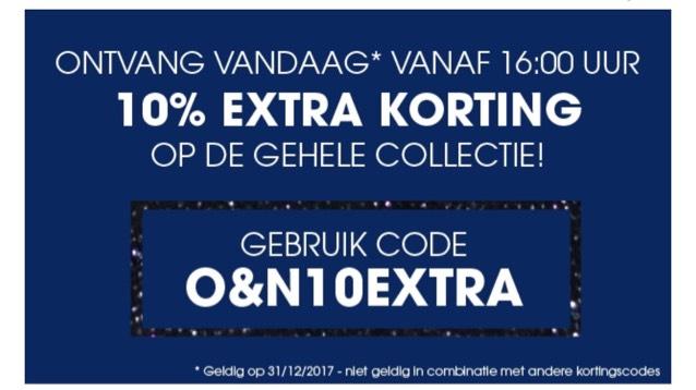 10% extra korting op alles @ Ziengs