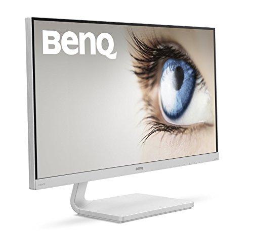 Benq vz2770h monitor (VGA, HDMI, 4 MS responstijd, Ultra Slim bezel, amva + Panel), wit 27 inch