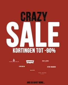 Crazy sale is gestart @Maison Lab kortingen tot 90%!