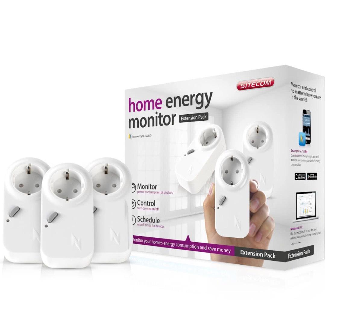 Sitecom WLE-1100 Home Energy Monitor Extension Kit Automatische stroomschakelaar