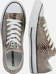 Converse All Stars leren sneakers €24,90 (=€60 korting) @ About You